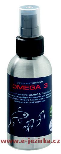 Doplněk FIAP Premiumactive Omega 3 mastné kyseliny 125ml