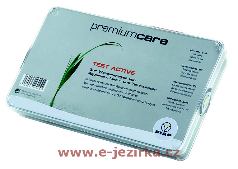 Sada testů jezírkové vody FIAP premiumcare TEST ACTIVE