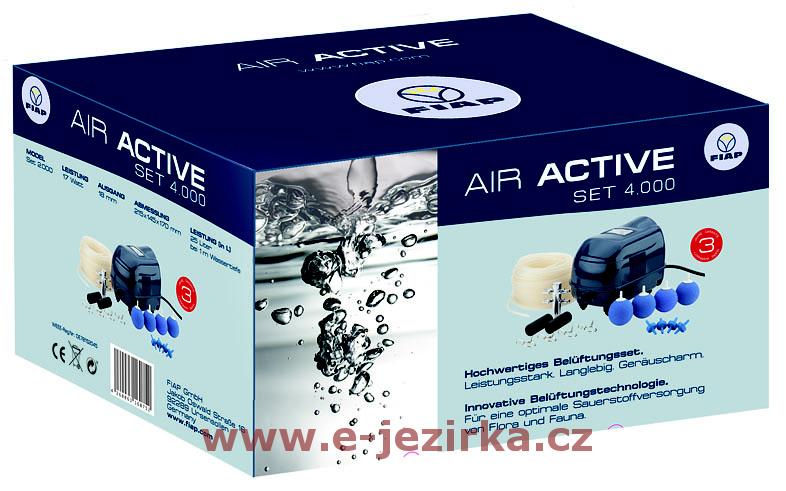 Provzdušňovač jezírek FIAP Air Active Set 4000