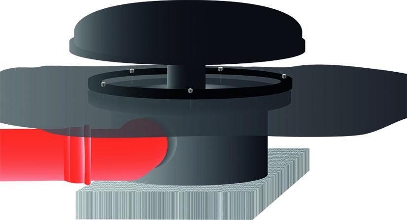 FIAP Spodní výpusť 50 mm