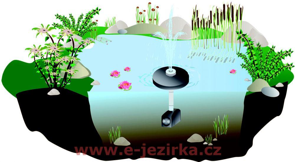 FIAP Fountain Active - plovoucí fontánka