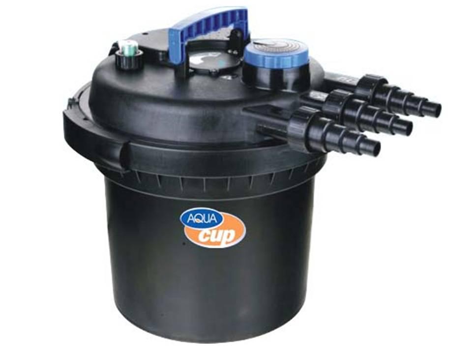 IRIS CPF180 - 2000 l/hod - Uzavřený tlakový filtr s integrovanou UV lampou