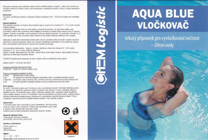 Aqua Blue vločkovač tekutý 3 l