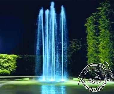Efektní fontána Water Quintet