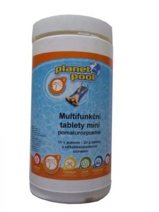 Multifunkční tablety pomalurozpustné 20g - mini 3kg