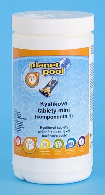 Kyslíkové tablety 20 g-mini (komponenta 1) 1kg