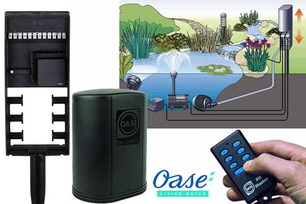 Oase FM - Master 3 - zásuvky na dálkové ovládání