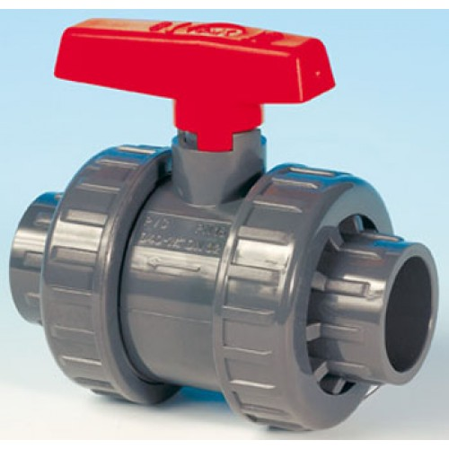 Kulový ventil 50mm - dvoucestný