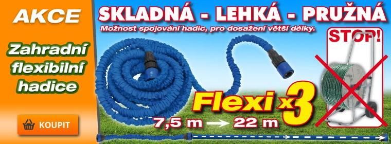 Flexibilní zahradní hadice X-HOSE 23m