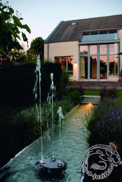 Efektní fontána Water Trio