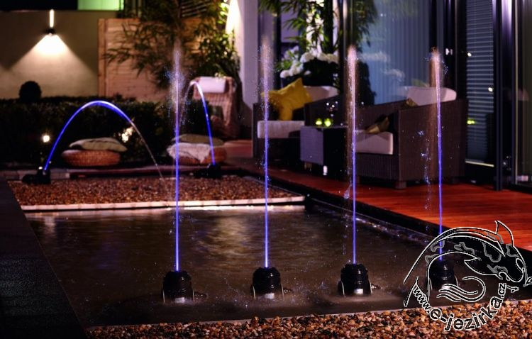 Fontána Oase Water Jet Lighting